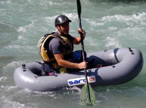 Mini-kayak sur le Giffre